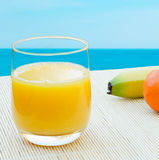 Juice by the sea Stock Photos