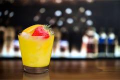 Juice Cocktail Stock Photo