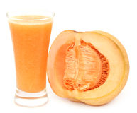Juice of cucumis melo or muskmelon Stock Photography