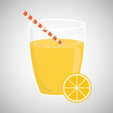 Juice design. glass icon. drink concept, vector illustration Royalty Free Stock Photo