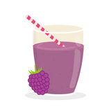 Juice design. glass icon. drink concept, vector illustration Stock Photos