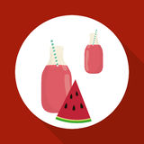 Juice design. glass icon. drink concept, vector illustration Stock Photo