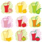 Juice And Drink Vector Stock Photo