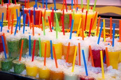 Juice drinks Royalty Free Stock Images