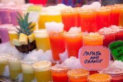 Juice drinks Stock Photo