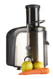 Juice extractor. Isolated on white background, front view Royalty Free Stock Photos