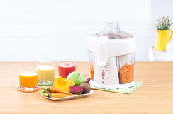 Juice extractor machine Royalty Free Stock Images