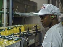 Juice Factory fotografia stock