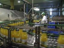 Juice Factory immagini stock