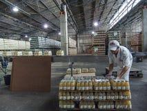 Juice Factory fotografia stock libera da diritti