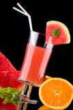 Juice and fresh fruits - organic, health drinks se Stock Photo