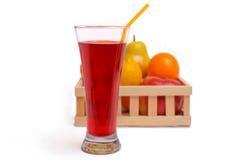 Juice and fruit Stock Photos