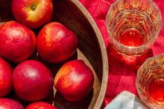 Juice fruit Stock Image