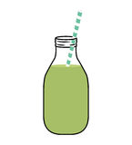 Juice glass  icon. Organic and Healthy food design.  Royalty Free Stock Photo