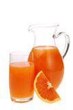 Juice from grapefruit royalty free stock image