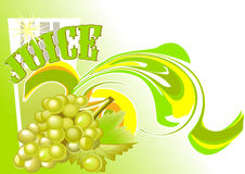 Juice_grapes Stock Photography