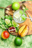 Juice for healthy lifestyle Stock Images