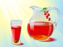 Juice jug Stock Images
