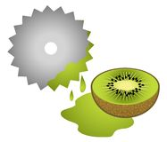 Juice kiwi Royalty Free Stock Photo