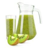 Juice with kiwi Royalty Free Stock Photography