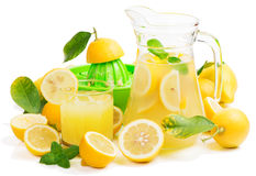 Juice of lemon Royalty Free Stock Images