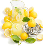 Juice of lemon Stock Image