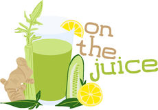 On The Juice Stock Photography