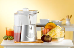 Fruit juice and vegetable blender machine  Royalty Free Stock Photography