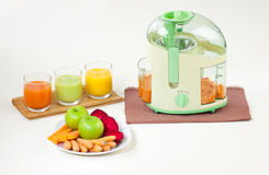Juice maker machine Royalty Free Stock Images