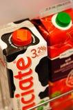 Juice and milk Royalty Free Stock Photo