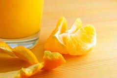 Juice from orange. Royalty Free Stock Photography