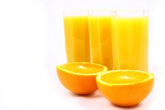 Juice Orange Royalty Free Stock Image