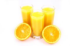 Juice Orange Stock Photo