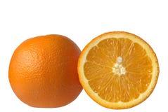 Juice orange. Isolated over white Royalty Free Stock Photo