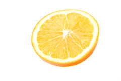 Juice orange fruit Stock Image