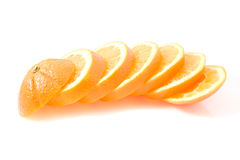 Juice orange fruit Stock Images