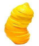 Juice orange with lemon Stock Photo