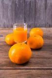 juice orange squeezed Στοκ Φωτογραφίες