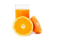 juice orange squeezed Στοκ φωτογραφία με δικαίωμα ελεύθερης χρήσης