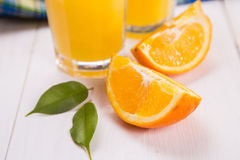 juice orange squeezed Στοκ Φωτογραφία