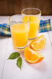 juice orange squeezed Στοκ Εικόνες