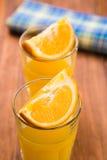 juice orange squeezed Στοκ Εικόνα