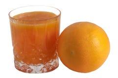 Juice of orange Stock Photography