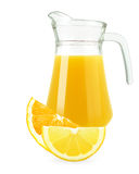 Juice of oranges and lemons Royalty Free Stock Photography