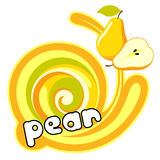 Juice pear. Royalty Free Stock Images
