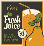 Juice pear Stock Images