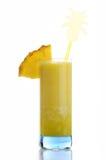 Juice of pineapple Stock Photos