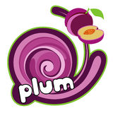 Juice plum. Stock Photo