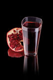 Juice pomegranate Royalty Free Stock Photo