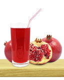 Juice of pomegranates Royalty Free Stock Image